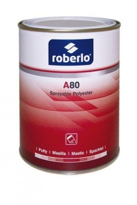 A80 Sprayable Polyester Putty, 1L