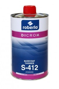 S-411 Basecoat Thinner Fast
